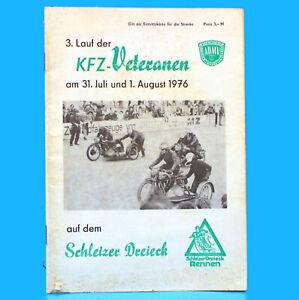 3-Correr-el-Kfz-Veteranen-31-Julio-1-Agosto-DDR-Folleto-Del-Programa