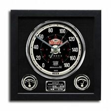 Speedometer Art Print Wall Clock Saab 96 Monte Carlo 850