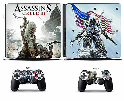 Video Games & Consoles Assassin 211 Vinly Skin Sticker Cover For Sony Ps4 Slim Playstation 4 Slim Wide Selection; Faceplates, Decals & Stickers