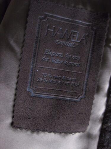amp; Exquisit Braun 44 Mantel Hawela Alpaka Gr Wunderschöner Mohair xwgO4TTqR