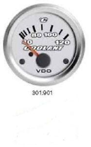 VDO-Titanium-Water-Temperature-Gauge-52mm-Dia