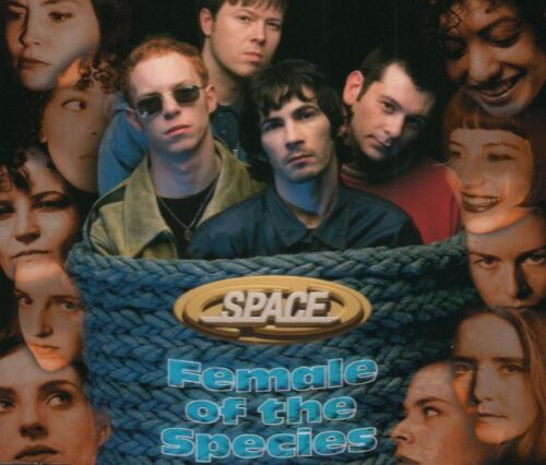 1 of 1 - Space(CD Single)Female Of The Species-Gut-CDGUT2-UK-1996-