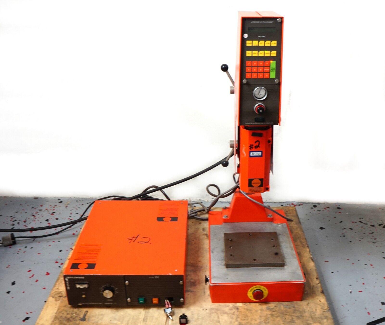 Ultrasonic Plastic Welder System