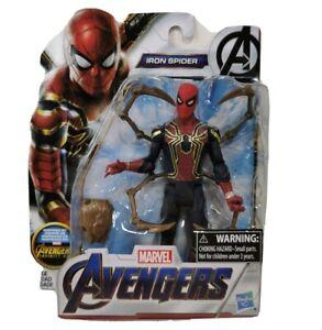 Marvel-Avengers-IRON-SPIDER-6-034-Action-Figure-Hasbro-Infinity-War-Movie-Spiderman