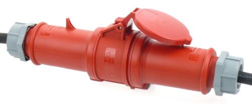 5,77€//m Mennekes Verlängerungskabel mit Phasenwender 32A 400V H07RN-F 5x6 25m