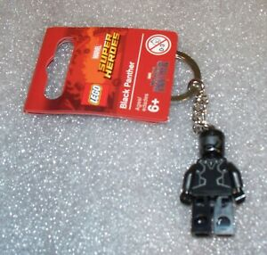 853772 Cyborg /& 853771 Black Panther New LEGO Super Heroes Keychains