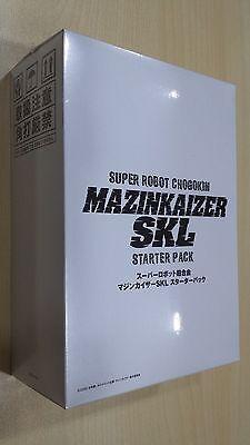 Bandai Super Robot Chogokin SRC Mazinkaiser SKL Starter Pack + DVD NEW