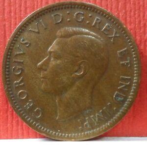 Canadian-1-Cent-George-VI-1939-KM-32-A-719