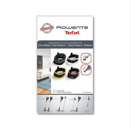Rowenta kit 4x spazzole aspirapolvere Air Force Essential Flex 260 360 460 560
