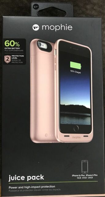 designer fashion 081e2 cbacd Mophie Juice Pack for iPhone 6 6s Plus - Rose Gold