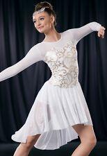 NEW  COMPETITION TWIRLING BALLROOM DANCE DRESS  ICE SKATING BATON  COSTUME