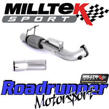 """Milltek Focus RS MK3 2016 on 3"""" Largebore DeCat Downpipe Exhaust & Connect Pipe"""
