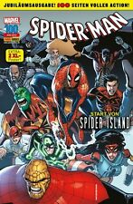 SPIDER-MAN # 100 + Poster - SPIDER ISLAND - PANINI VERLAG 2012 - TOP