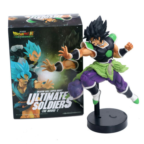 Anime Dragonball Z Broly 9/'/' Action Figure DBZ Toy Model Collectible Gift IB