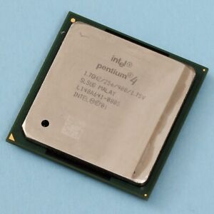 Intel Pentium 4 1.7Ghz Socket 478 Willamette 256KB Cache 400 Mhz FSB SL5UG