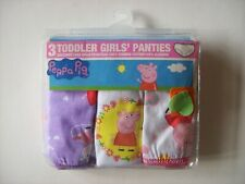 Peppa Pig Underwear Underpants 3pr 7pr Panty Pk Girls 2T-3T 4T 5Toddler New