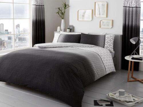 """Urban Ombre Duvet Quilt Cover Bedding Set /""""D//B /& K///"""" 3 Colours"""