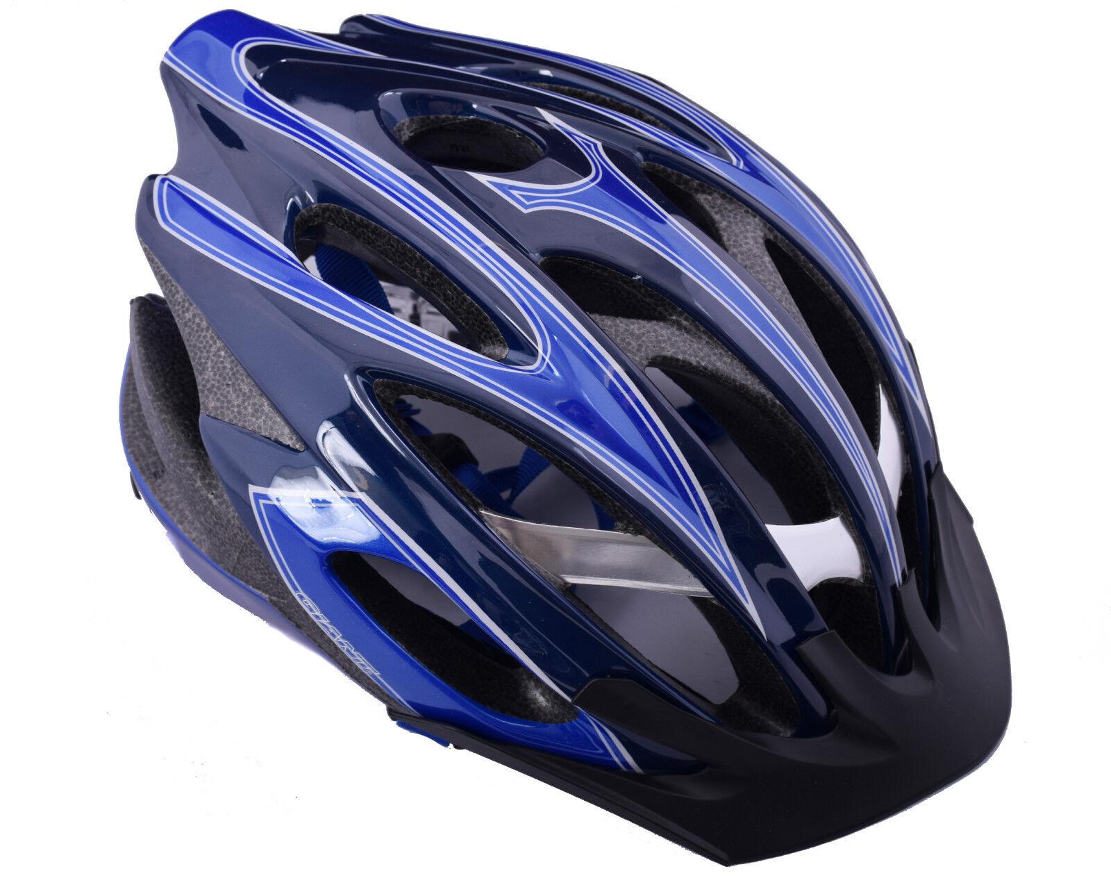 GIANT IXION Mountain Bike aluminium renforcé Casque Petit 51-54 51-54 51-54 cm Bleu/Noir 46307f