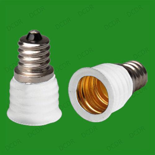 40x CES E12 Candelabra To Small Screw E14 SES Bulb Adaptor Converter Holder