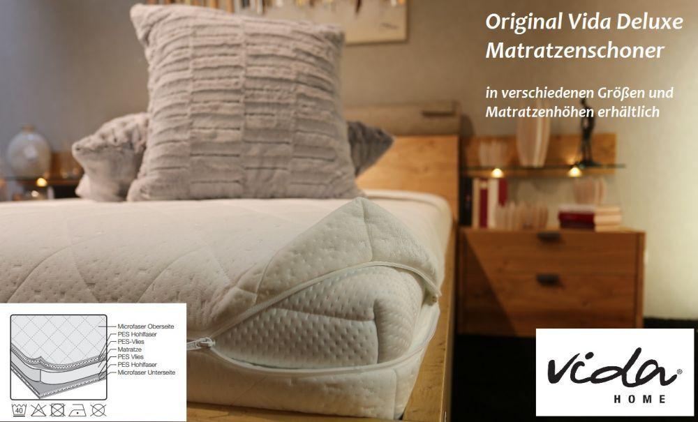 DELUXE vida-home matratzenschonbezug, Materasso Materasso Materasso Edizione FODERA, 140 x 200 cm e296b0
