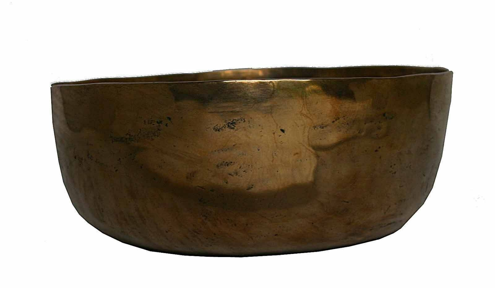 Klangschale Singing Bowl Halsschale Schulterschale Meditation Hörprobe 440g M72B