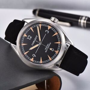 Fashion-41mm-corgeut-black-dial-sapphire-glass-sea-gull-Automatic-mens-Watch-130