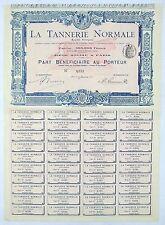 Dépt 92 & 75 - Boulogne - Superbe & Rare Part B. de la Tannerie Normale de 1902