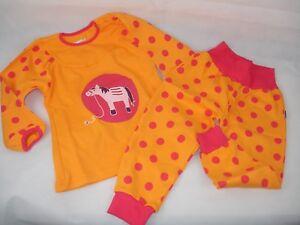 677ce7c55e Kinder Schlafanzug, Jako-O, Pferd, orange/pink, Hose+Oberteil, Gr.92 ...