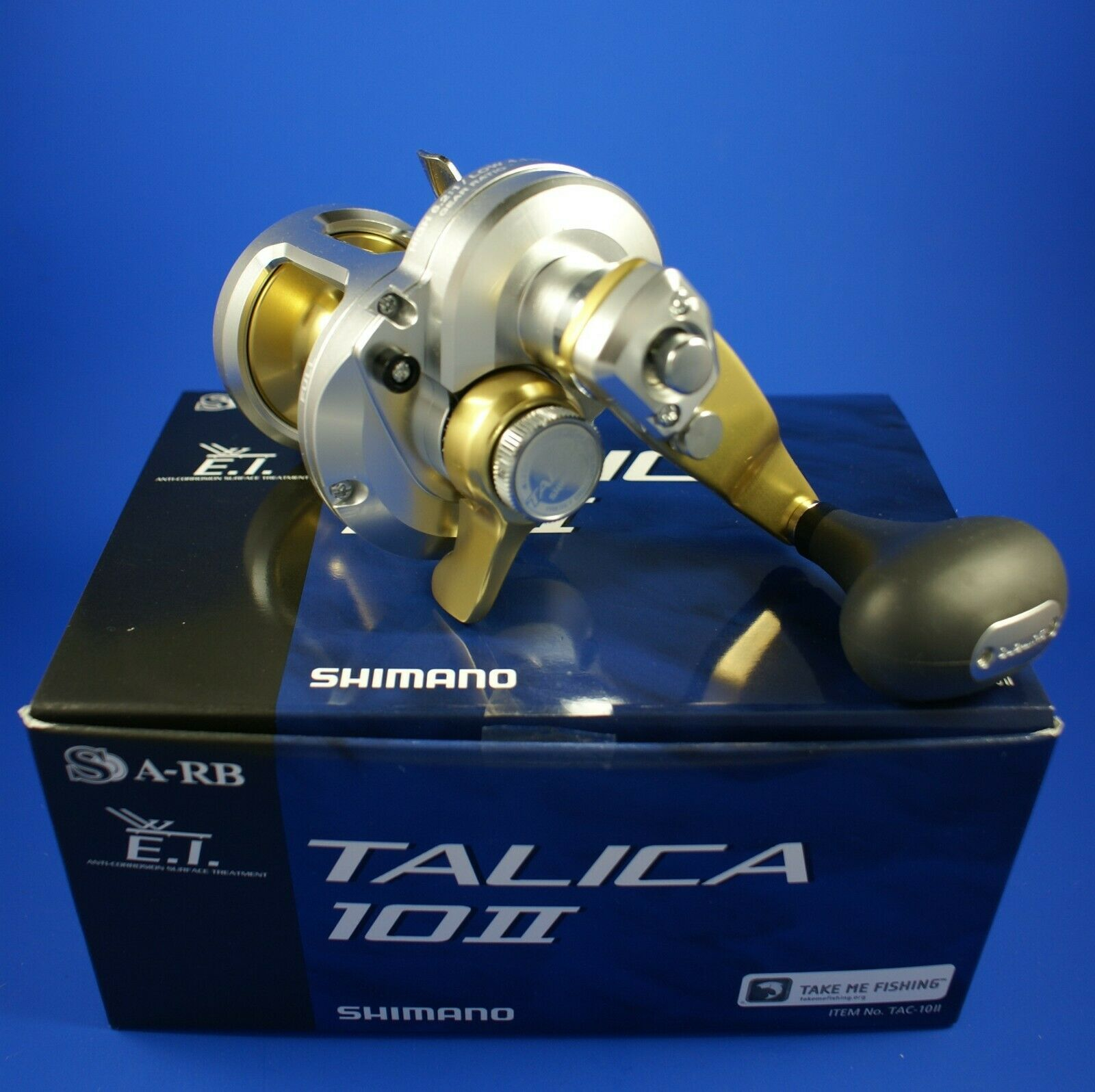 Shimano Talica 10 II    TAC10II    Two Speed Fishing Reel FREE POSTAGE