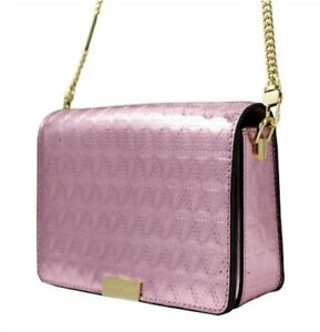 a989ab339b2762 Image is loading Michael-Kors-Jade-Soft-Pink-Clutch-Embossed-Leather-