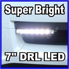 "Slim 7"" DRL LED Xenon White 2PCS Daytime Running Lights High Power DRL L-613 e"