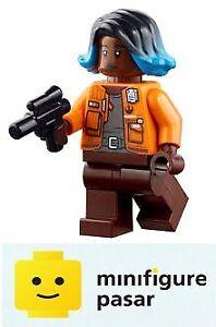 sw1108-Lego-Star-Wars-Galaxy-039-s-Edge-75293-Vi-Moradi-Minifigure-w-Blaster-New