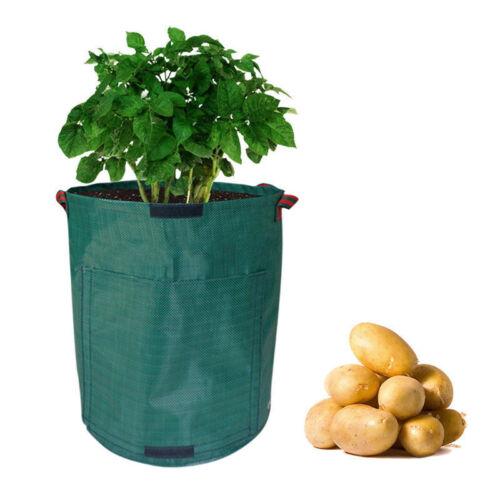 7 Gallonen Kartoffel Pflanztasche Gemüse Pflanzsack Pflanze Wachsende Tasche