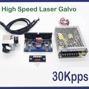 Access Control Fast Deliver Free Shipping 30k Laser Galvo Galvanometer Based Optical Scanner Access Control Kits including Show Card