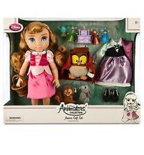 Disney Store Animator's Collection Sleeping Beauty Aurora Doll Gift Set toddler