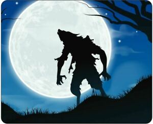 Werewolf in the Moonlight Mousepad