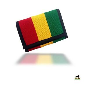 Rasta-Dread-Roots-Jamaica-Cool-Runnings-Wallet-Purse-Babylon-Irie-Bob-Reggae-RGY