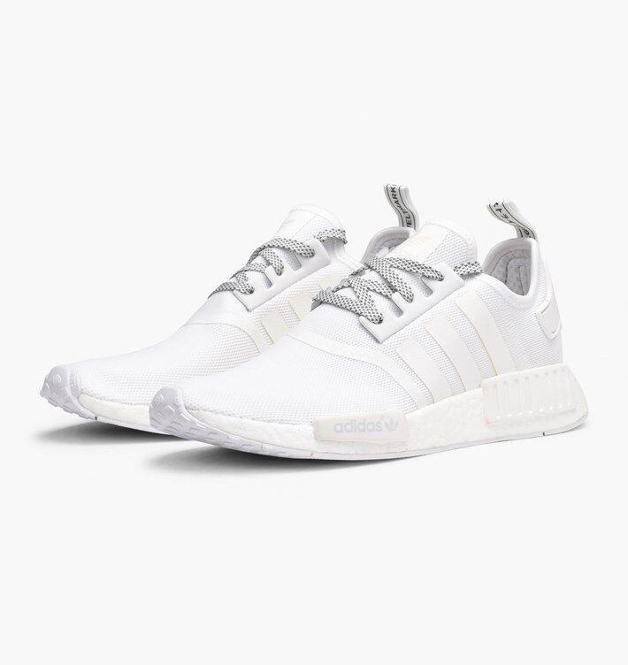 adidas originals nmd r1 r2 xr1 cs1 pk og all white black core reflective sns ds