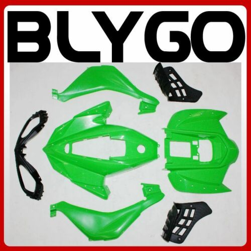 GREEN Plastics Fairing Fenders Cover Kit 110cc 125cc Sport Quad Dirt Bike ATV