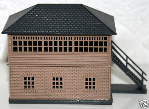 Knightwing PN6  Signal Box Old Style Accessories Plastic Kit N Gauge 1st