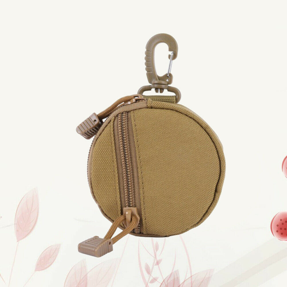 1pc Key Pouch Portable Key Storage Container for Camping Outside Outdoor