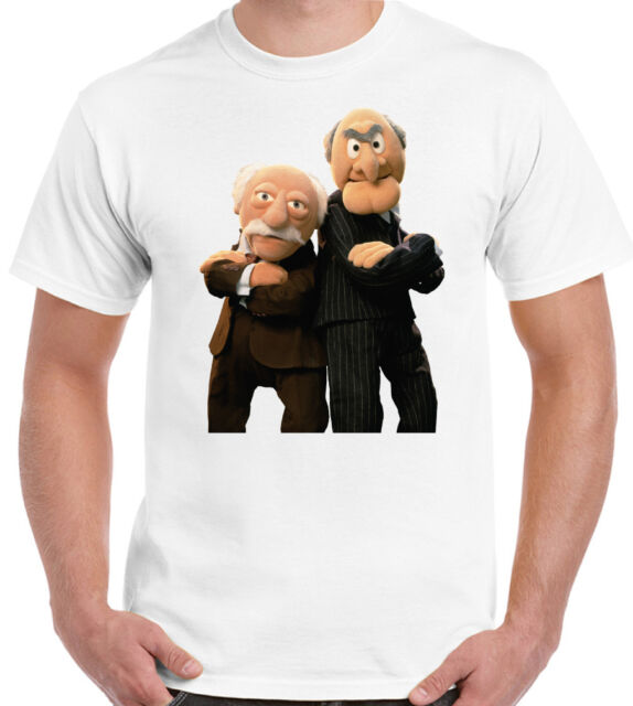 The Muppets - Grumpy Old Men - Mens Funny T-Shirt Retro Man Statler and Waldorf