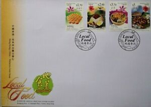 Malaysia FDC with Stamps (09.10.2014) - Local Food : Hong Kong Issue