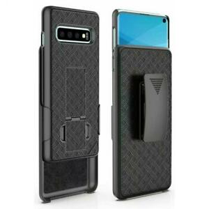 SAMSUNG-GALAXY-S10-CASE-COMBO-SWIVEL-BELT-CLIP-HOLSTER-COVER-W-KICKSTAND-X3I