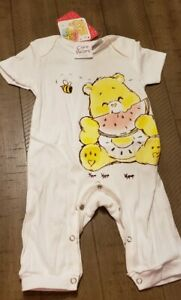 Care Bears Baby Sunshine Bear One piece. With Tags size 3 to 6 months