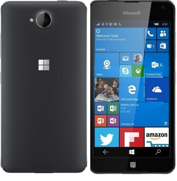 Microsoft Microsoft Lumia 650 16GB Sort, Microsoft Lumia