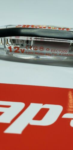 Snap On Cord Free Circuit Tester 3-24v DC NEW CLEAR handle EECT200 !!!!!!!!