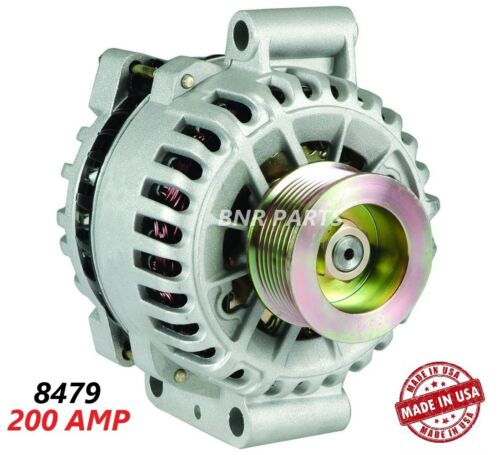 200 AMP 8479 Alternator Ford F Super Duty 6.0 High Output Performance HD NEW USA