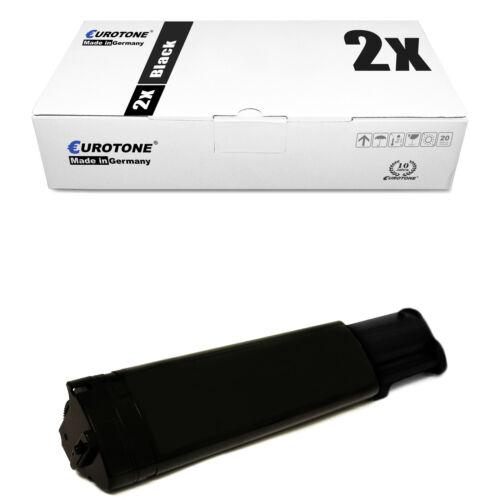 2x ECO Toner BLACK für Dell 3100-cn 3000-cn
