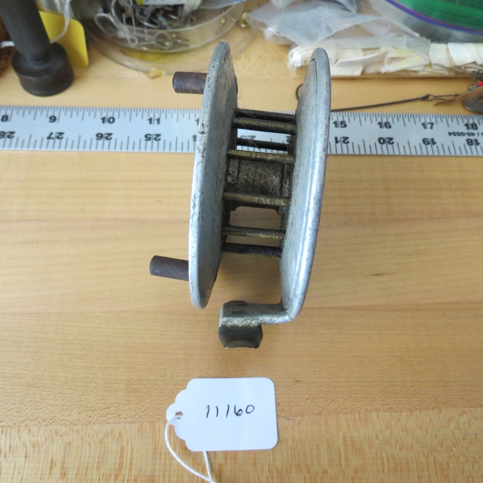 Vintage Fly fishing reel ling dryer (lot)